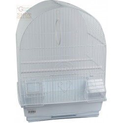 CAGE FOR CANARIES MODEL TORINO CM. 35 X 28 X 46H. COLOR WHITE