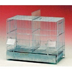 THE BIRD CAGE WITH THE BOTTOM PLATE 320/42-12 CM. 42 X 24 X 33