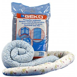 GEKO DRAUGHT EXCLUDER BRUSHES SAUSAGE IN CLOTH CM. 120 DIAMETER