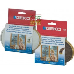 GEKO STRIP WEATHER STRIP RUBBER WHITE EPDM TYPE, AND MT. 6