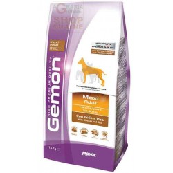 GEMON FEED DOG MAXI ADULT CHICKEN AND RICE KG. 15