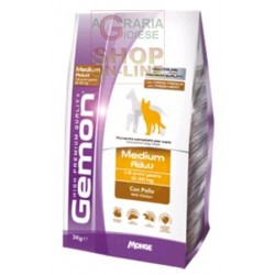 GEMON MANGIME PER CANI MEDIUM ADULT CON POLLI KG. 3