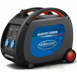 GENERATOR INVERTER PORTABLE PROFESSIONAL MULTIPOWER G3000iN KVA