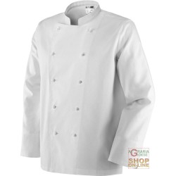 JACKET BY CHEF 100% COTTON COLOR WHITE TG S XXL