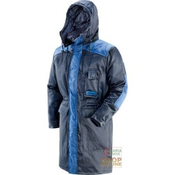 JACKET IN ISOSOFT® FOR COLD STORAGE COLOUR BLUE EN 342 TG