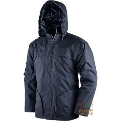 JACKET COTTON POLYESTER AND PADDED IN POLYESTER COLOR BLUE TG S