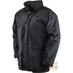 JACKET IN COTTON-COATED POLYESTER PVC PADDED POLYESTER COLOR
