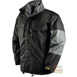 JACKET POLYESTER PVC TRIPLE USE, PADDED DETACHABLE FLEECE COLOR