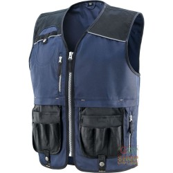 VEST 60% COTTON 40% POLYESTER, REINFORCEMENTS IN POLYESTER
