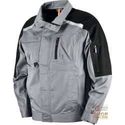 JACKET 97% COTTON 3% SPANDEX COLOR GREY TG M XXL