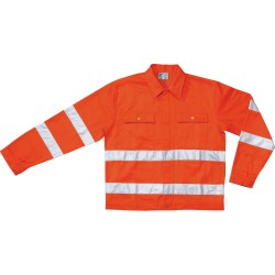 JACKET ORANGE LINED SIZE M TO 3XL