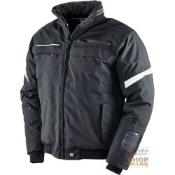 JACKET IN OXFORD NYLON PU COLOR BLACK TG S XXL