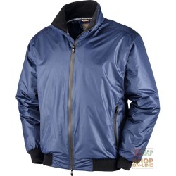 JACKET IN POLYESTER PVC LINED INSIDE FLEECE COLOR BLUE TG S XXL