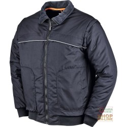 JACKET POLYESTER / COTTON WITH PLASTIC SHEETING DETACHABLE