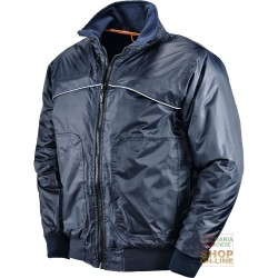 JACKET POLY PVC WITH PLASTIC SHEETING COLOR BLUE TG S XXL