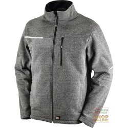TECHNICAL JACKET IN WOOL ACRYLIC COLOR GREY TG S XXL