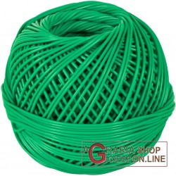BALL OF GARTER STITCH PVC BINDING MM. 2 GREEN