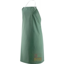 APRON PVC LIGHTWEIGHT POLYESTER CM 75X110 GREEN COLOR