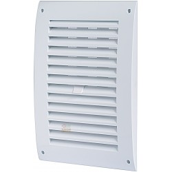 GRID VENTILATION IN ABS WITH CLOSING, AND NETWORK MM 150 X 150