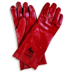 GLOVES AND ACID-PROOF RED CM.35 REF 78300 SIZE 10