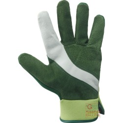 GARDENING GLOVES PALM CRUST-BACK SYNTHETIC FABRIC TG 7 9 COLOR