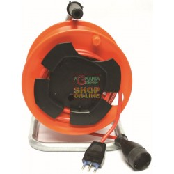 CABLE REEL GARDEN POWER SOCKET WITH PLUG 16A WITH T 3X1,5 MT.