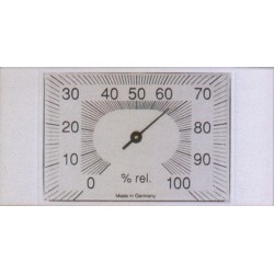 HYGROMETER IN ABS CM.14X7 ART. 204601