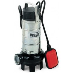 IRCEM SUBMERSIBLE PUMP FOR SEWAGE WATER FROM 12 M BY HP. 1,2