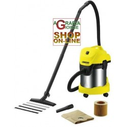 KARCHER CANISTER VACUUM CLEANER MOD. WD3300M