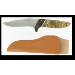 KEEN BLADES KNIFE FIXED BLADE WITH WOODEN HANDLE CM. 24 MOD.