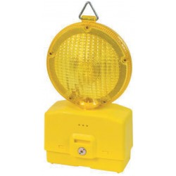 LED FLASHING light FOR YARD YELLOW LIGHT without battery