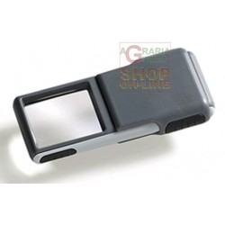 MAGNIFYING GLASS WITH LED MM. 38 X 32 3 X 501238