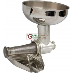 LEONARDI KIT TOMATO MILL ACCESSORY SP3, TIN PLATED STAINLESS