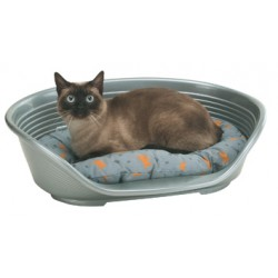 BED FOR DOG OR CAT DELUXE POLYETHYLENE CM.49X36X17,5H
