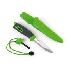 LIGHT MY FIRE SPORTS KNIFE GREEN HANDLE FIXED BLADE LMF FK GR