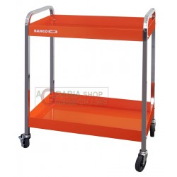 BAHCO TOOL TROLLEY WITH 2 SHELVES