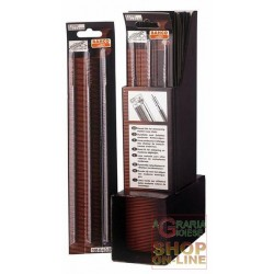 BAHCO FILES FOR CHAINSAWS 168 Diam. 1/4 MM 6,3 (conf. 3 pcs)