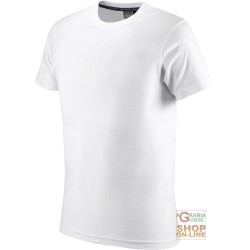 T-SHIRT COTTON HALF SLEEVE 145 GR COLOR WHITE TG S XXL