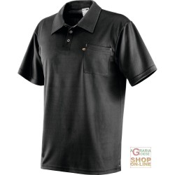 POLO SHIRT POLYESTER 3 BUTTON PLACKET SHORT SLEEVES 1 CHEST