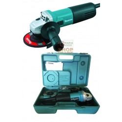 MAKITA GRINDER ELECTRIC 9554HNGK 115 WITH SUITCASE WATT. 710