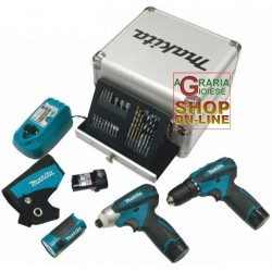MAKITA SUPERKIT PROFESSIONAL MOD. LCT303X1 COMPOSED OF DF330DW