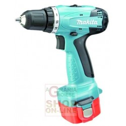MAKITA DRILL BATTERY-6271 DWPE 12 V WITH 2 BATTERIES