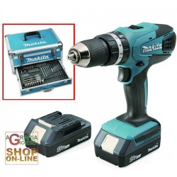 MAKITA DRILL WITH 2 BATTERIES 18-VOLT LITHIUM-HP457DWEX WITH