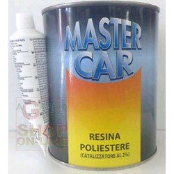 MASTERCAR POLYESTER RESIN WITH CATALYST, ML.750