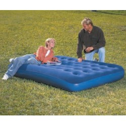 AIRBED INFLATABLE FLOCKED CM.191X140X23 MOD. 67002